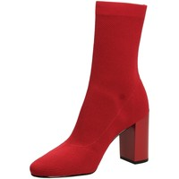 Schuhe Damen Low Boots What For JACK red-rosso