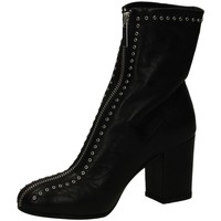 Schuhe Damen Low Boots Lemaré ROCK nero-nero