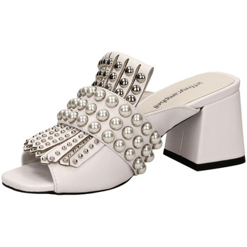 Schuhe Damen Sandalen / Sandaletten Jeffrey Campbell LENOIR ST LEATHER white-bianco