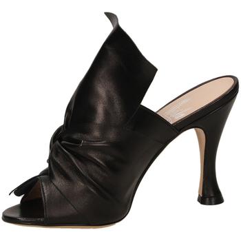 Schuhe Damen Pantoffel Mivida NAPPA nero-nero