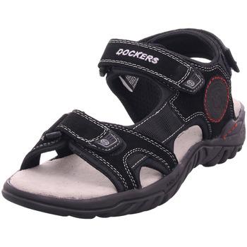 Schuhe Herren Sandalen / Sandaletten Dockers - 42TH004200100 schwarz