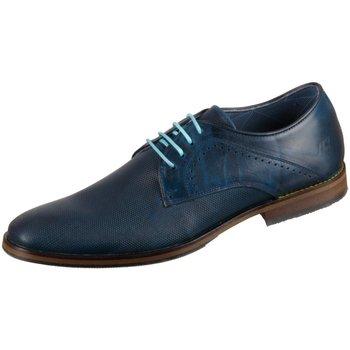 Schuhe Herren Derby-Schuhe & Richelieu Bullboxer Schnuerschuhe 848K20083ACABLSU10 blue 848K20083ACABLSU10 blau