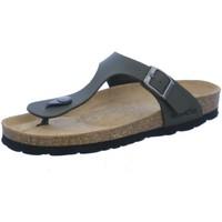 Schuhe Damen Zehensandalen Rohde Pantoletten 5628/61 oliv grün