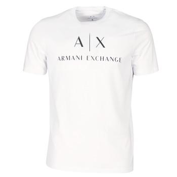 Kleidung Herren T-Shirts Armani Exchange 8NZTCJ-Z8H4Z-1100 Weiss