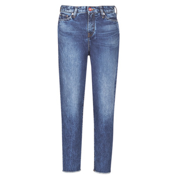 Kleidung Damen Boyfriend Jeans Armani Exchange 6GYJ16-Y2MHZ-1502 Blau