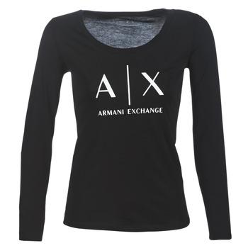 Kleidung Damen Langarmshirts Armani Exchange 8NYTDG-YJ16Z-1200 Schwarz