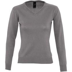 Kleidung Damen Pullover Sols GALAXY SWEATER WOMEN Gris