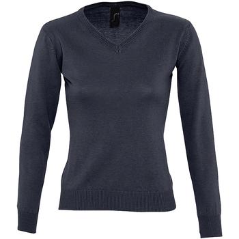 Kleidung Damen Pullover Sols GALAXY SWEATER WOMEN Azul