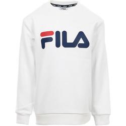 Kleidung Kinder Sweatshirts Fila Kids Classic Logo Crew Sweat Weiss