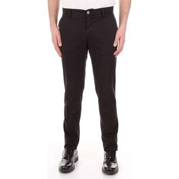 Kleidung Herren 5-Pocket-Hosen Mason's MILANO-CBE024 schwarz