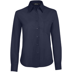 Kleidung Damen Hemden Sols EXECUTIVE POPELIN WORK Azul