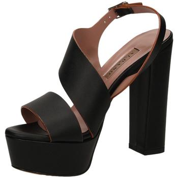 Schuhe Damen Sandalen / Sandaletten Albano KUT nero-nero