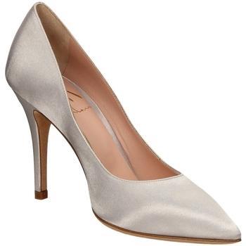 Schuhe Damen Pumps Malù RASO nikel-nikel