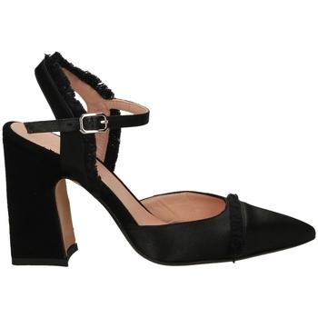 Schuhe Damen Pumps Malù RASO E CAMOSCIO nero-nero
