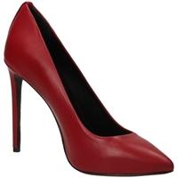 Schuhe Damen Pumps Marc Ellis CAMOSCIO fuego-rosso