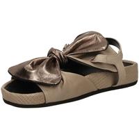 Schuhe Damen Sandalen / Sandaletten Fabbrica Dei Colli PLACE taupe-taupe