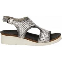 Schuhe Damen Sandalen / Sandaletten Felmini FT argento