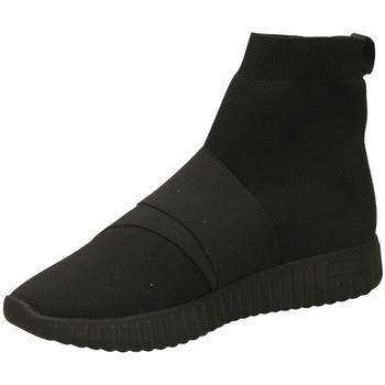 Schuhe Damen Sneaker High Fessura DINGHY KNIT black-nero
