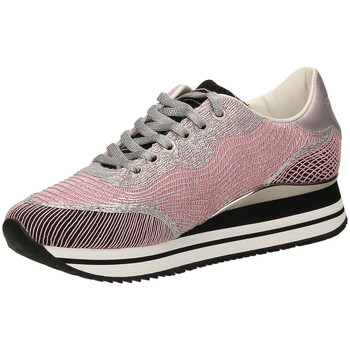 Schuhe Damen Sneaker Low Crime London FUGITIVE pink-rosa