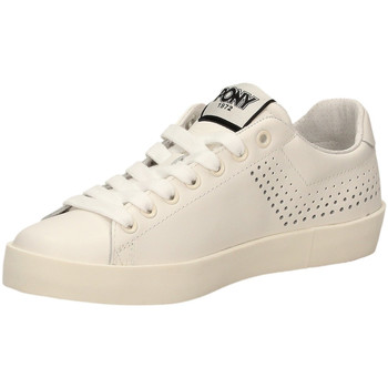 Schuhe Damen Sneaker Low Pony AURORA LEATHER a4-bianco