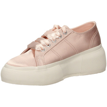 Schuhe Damen Sneaker Low Superga 2287-SATINW 914-rosa