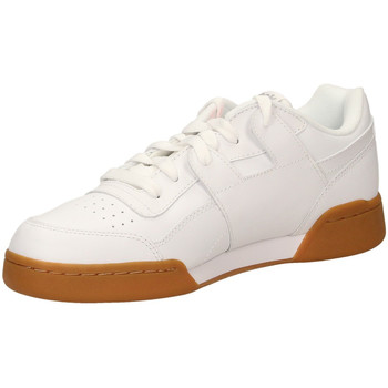 Schuhe Herren Sneaker Low Reebok Sport WORKOUT PLUS white-bianco