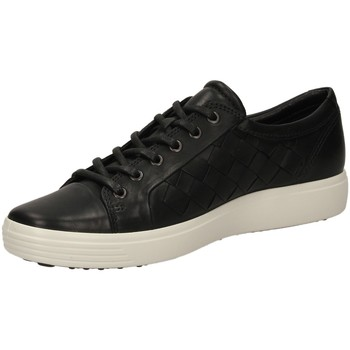 Schuhe Herren Sneaker Low Ecco SOFT 7 black-nero