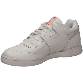 Schuhe Herren Sneaker Low Reebok Sport WORKOUT PLUS MU white-bianco