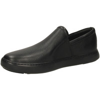 Schuhe Herren Slipper FitFlop COLLINS SLIP-ON black-nero