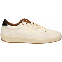 Schuhe Herren Sneaker Low Blauer MURRAY01 - MAN LEATHER SNEAKERS whi-white