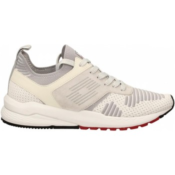 Schuhe Herren Sneaker Low Lotto MARATHON KNIT 1b7-white-vapor-gray