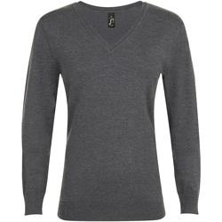 Kleidung Damen Pullover Sols GLORY SWEATER WOMEN Gris