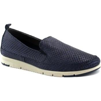 Schuhe Damen Slipper Frau FRA-E19-51Z3-BL Blu