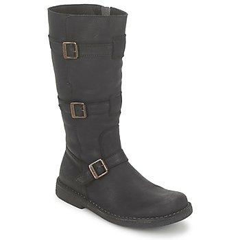 Schuhe Damen Klassische Stiefel Kickers LOCKNESS Schwarz