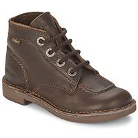 Schuhe Kinder Boots Kickers KICK COL Braun