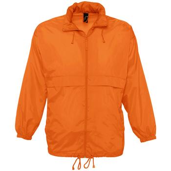 Kleidung Windjacken Sols SURF REPELENT HIDRO Naranja