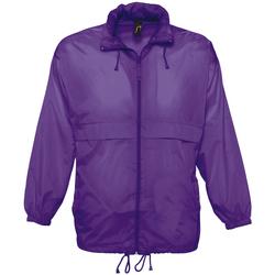 Kleidung Windjacken Sols SURF REPELENT HIDRO violeta