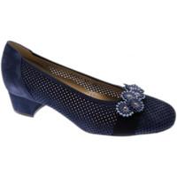 Schuhe Damen Pumps Calzaturificio Loren LO60851bl blu