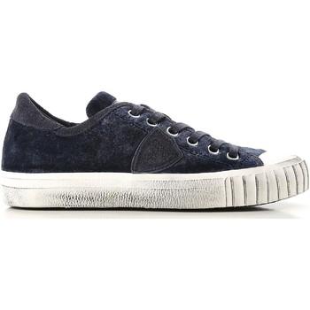 Schuhe Damen Sneaker Low Philippe Model GRLD EV01 blu