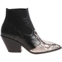 Schuhe Damen Low Boots Casadei 1Q613L0601X496E45 nero