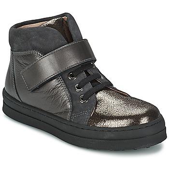 Schuhe Mädchen Sneaker Low Unisa CALATA Grau / Schwarz