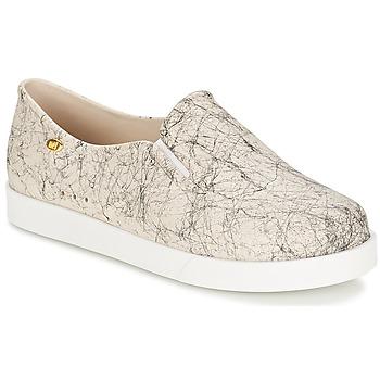 Schuhe Damen Slip on Mel KICK Grau