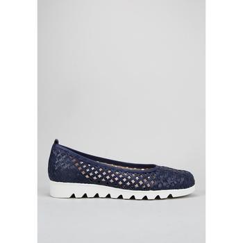Schuhe Damen Slip on Amanda PAYA Blau