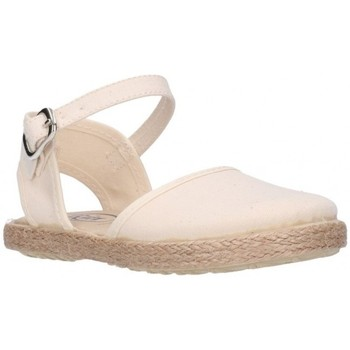 Schuhe Mädchen Leinen-Pantoletten mit gefloch Batilas 45801 Niña Beige beige