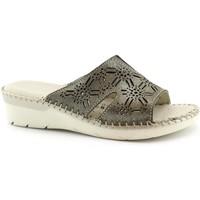 Schuhe Damen Pantoffel Grunland GRU-E19-CI1350-TA Beige