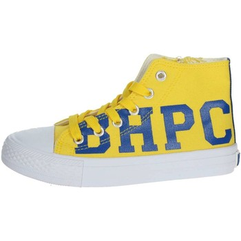 Schuhe Kinder Sneaker High Beverly Hills Polo Club BH4036 Gelb
