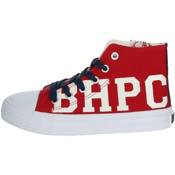 Schuhe Kinder Sneaker High Beverly Hills Polo Club BH4036 Rot