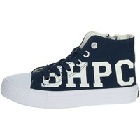 Schuhe Kinder Sneaker High Beverly Hills Polo Club BH4036 Blau