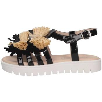 Schuhe Kinder Sandalen / Sandaletten Florens F780328V NERO/BEIGE Schwarz / Beige