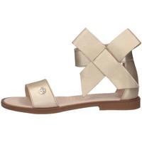 Schuhe Kinder Sandalen / Sandaletten Florens F778126D PLATINO Sandalen Kind Platin Platin